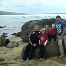 great beach break with E off shore, Fanore