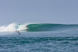 Surf Tours Nicaragua's home break!, Puerto Sandino photo