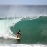 Biggest wave of the day!, Playa Remonso