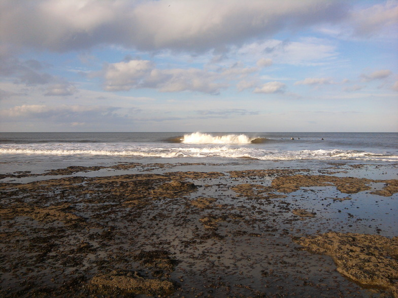 Staithes surf break