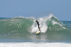 Mark Bedser surfing Gonubie Point, The Point (Gonubie Bay) photo