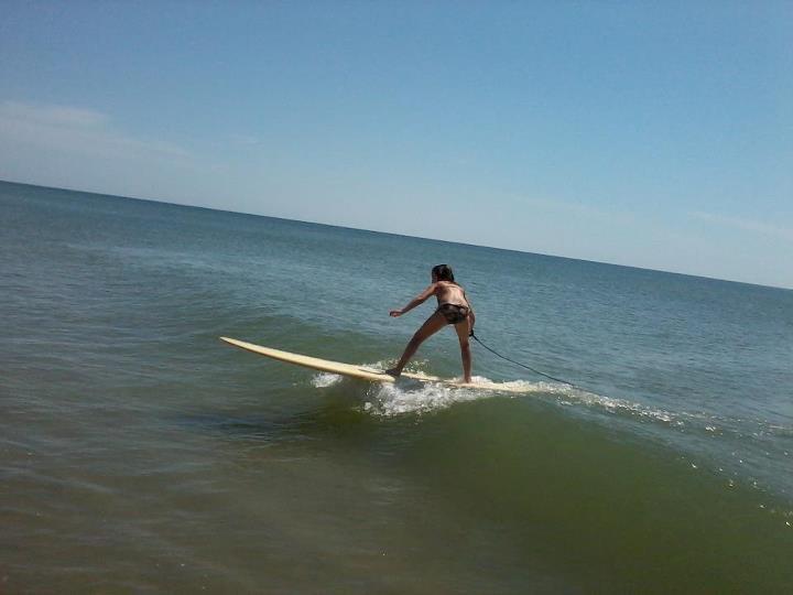 Fernandina Beach Pier surf break