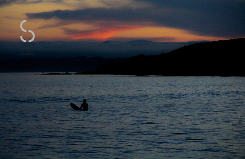 Sunset on inch, Ballycotton