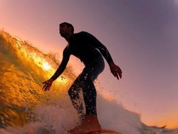 Surfing the Sunset, Batroun or Colonel photo