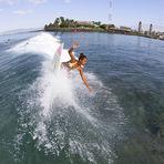 Surfing Kewalos