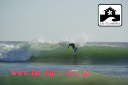 Surfing in Popoyo Nicaragua with Las Plumerias Lodge & Surf, Playa Sardinas photo
