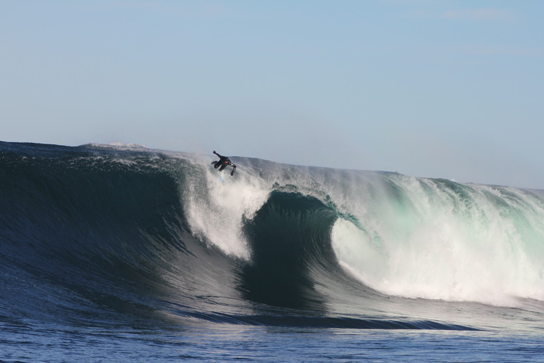Shipstern Bluff break guide
