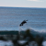 flying high, Redbill Beach