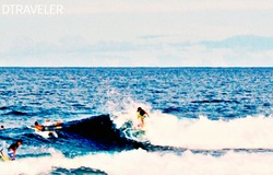 ripping the waves, Cloud 9 photo