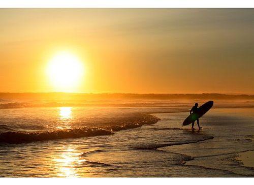 A Sunset Surf, Woolamai
