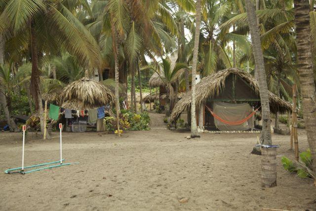 Costeño Beach surf break