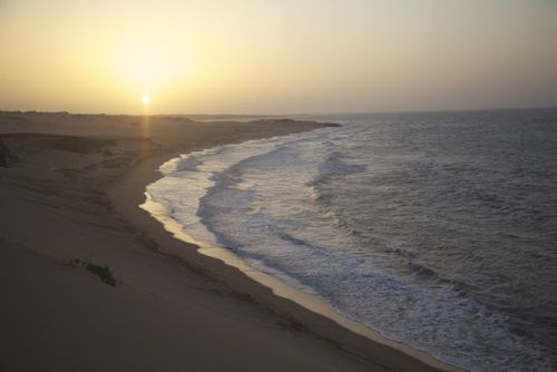 Where the sand meet the sun that meets the sea, Dunas de Taroa