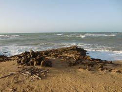 Northern most waves, Punta Gallina photo
