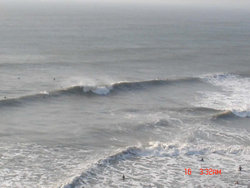 lefts and rights, Southerndown photo