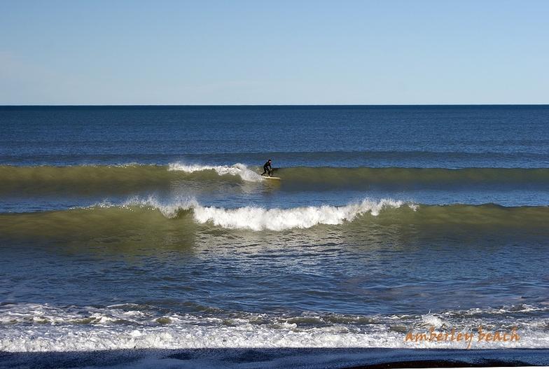 Amberley Beach surf break