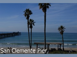 Morning at San Clemente Pier photo