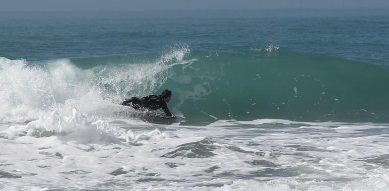 El Castillo surf break