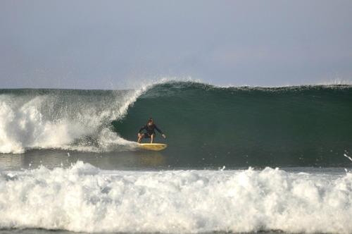 single fining, Punta Conejo