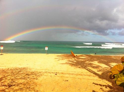 Ends of the rainbow, Chuns and Jocks Reefs