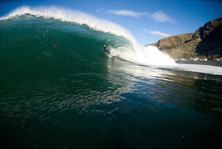 Paul do Mar surf break