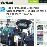 'SACA' Tiago Pires, Jose Gregorio & Orlando Pereira surf Paul do Mar