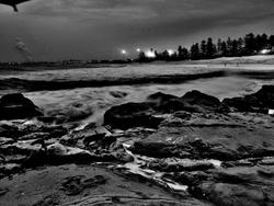 Late Night, Wollongong South Beach photo