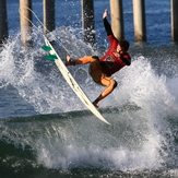 Chris Waring 2012 American Prosurfing series, Huntington Beach