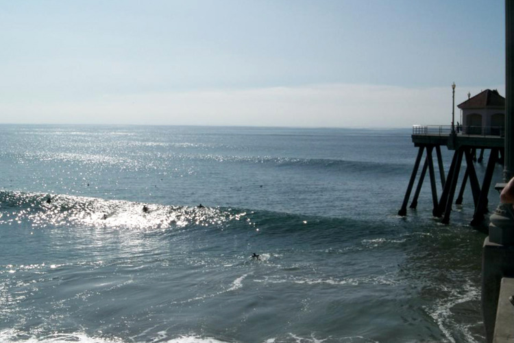 Huntington Beach Surf Photo Southside Hb Pier By Hbonline