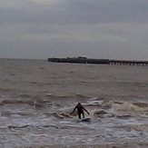 winter surf, Walton-On-The-Naze