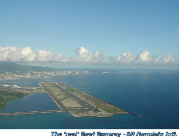 Reef Runway (Hickam Harbor) surf break