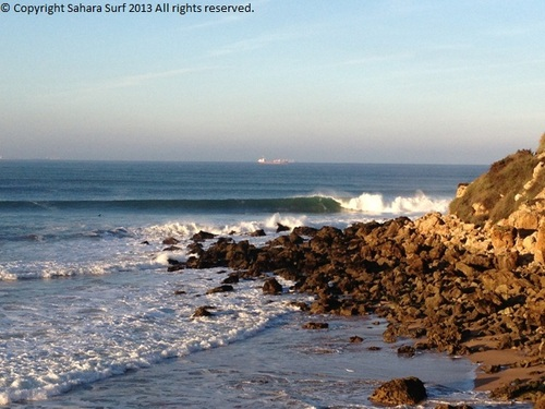Perfect waves at Safi from our last trip there on 20/12/12, Safi Garden (Le Jardin)