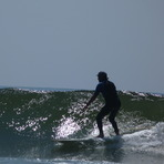 Small day but still fun, Punta Abreojos