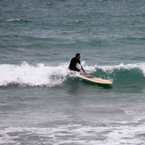Surfing at Colac Bay