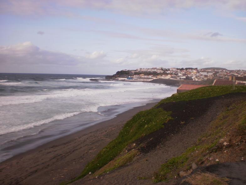 San Miguel - Ribeira Grande surf break