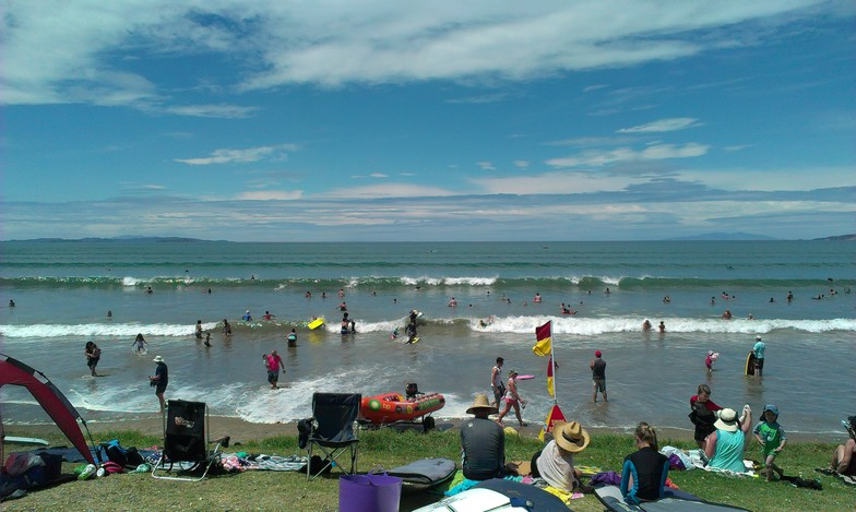 Orewa Beach surf break
