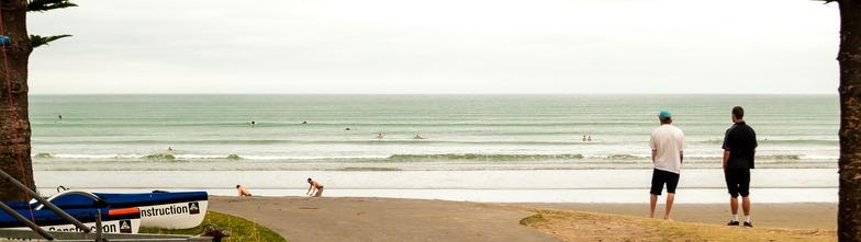 Orewa Beach surf break