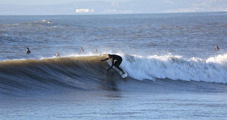 Rest Bay surf break