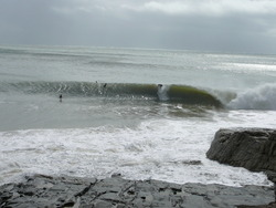 Everybody's fave QLD style. Tail end of ground swell, Noosa - First Point photo