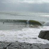 Everybody's fave QLD style. Tail end of ground swell, Noosa - First Point