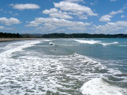 Tolaga Bay Summer Waves photo