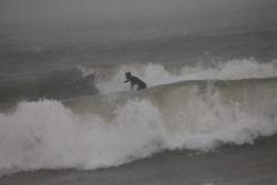 january surf, Sheboygan photo