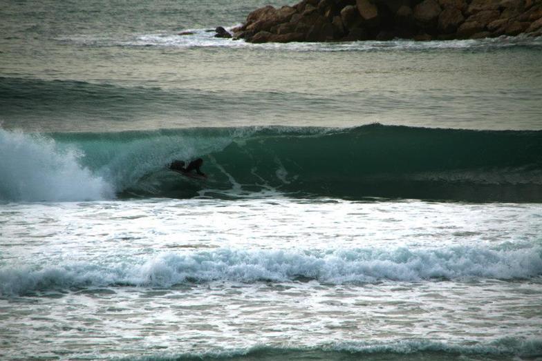 Jonas Beach or Jieh beach surf break