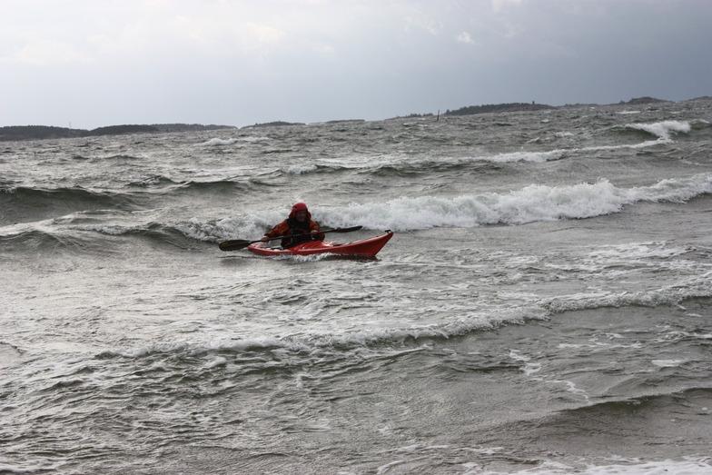 Tulliniemi (Hanko) surf break