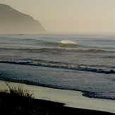 Early for offshore - Chalet, Wainui Beach - Whales
