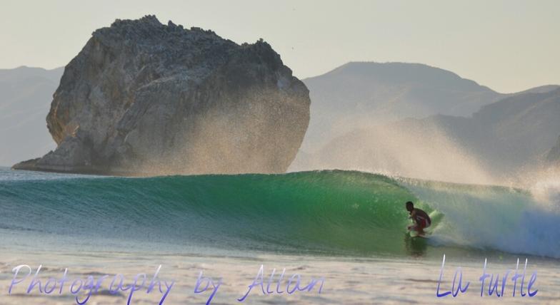 Roca Bruja - Witch's Rock surf break