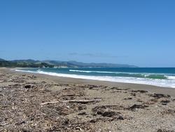 Vast beach, Whangaparaoa photo