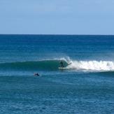 Two breaks east of The Spit, Tuahuru Reefs
