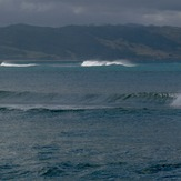 The Spit at high tide, Mahia Spit