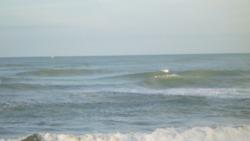 incoming tide, Rapid Creek - Beach photo
