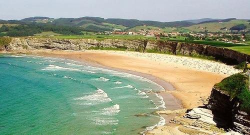 Playa Lhangri-La (Langre-Cantabria), Playa de Langre